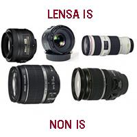 Perbedaan Lensa IS dan Non IS
