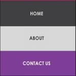 Membuat Website One Page Vertical Menu Javascript dan HTML