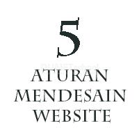 Lima Aturan Dalam Mendesain Website