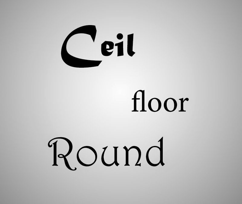 Membulatkan Angka Ke Bawah Dengan Menggunakan Fungsi Floor