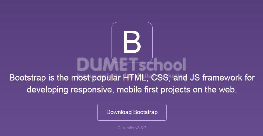 Bagaimana Cara Download Dan Konfigurasi Bootstrap