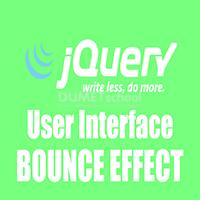 Mengenal Lebih Dalam Penggunaan Efek Bounce pada Jquery-UI