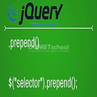 Cara Penggunaan Fungsi Prepend pada jQuery