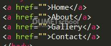 Mengenal Value Yang Ada di dalam tag a html