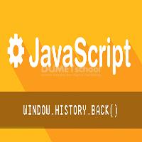 Cara Penggunaan Window History Back Pada Javascript
