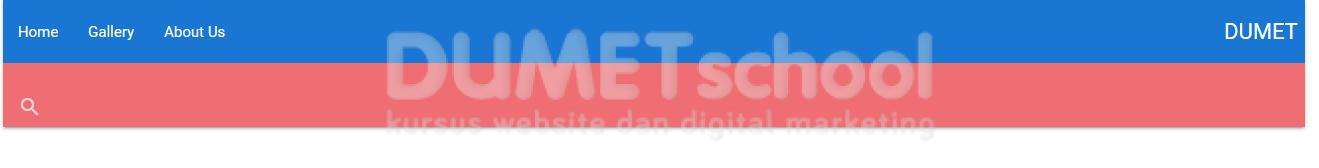 Implementasi Navbar Pada Framework CSS Materialize
