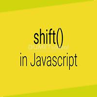 Cara Menggunakan Metode Shift Array Javascript