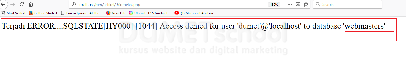 cara menggunakan pdo dan apa itu pdo di php