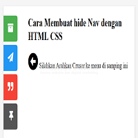 Cara Membuat Hide Icon Social Media