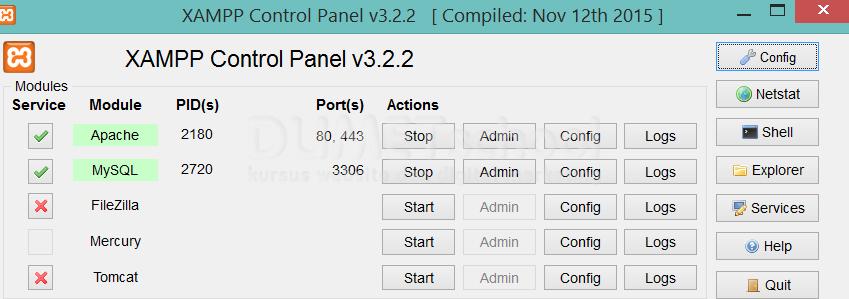 Cara Membuat Password Pada Pada Xampp Server-1