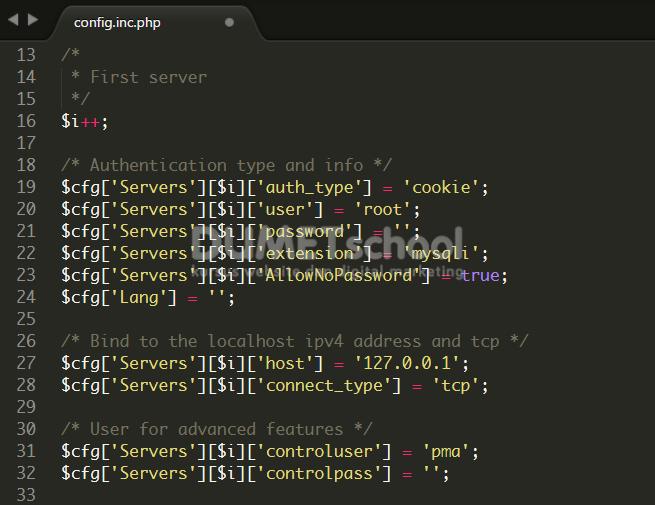 Cara Membuat Password Pada Pada Xampp Server-2