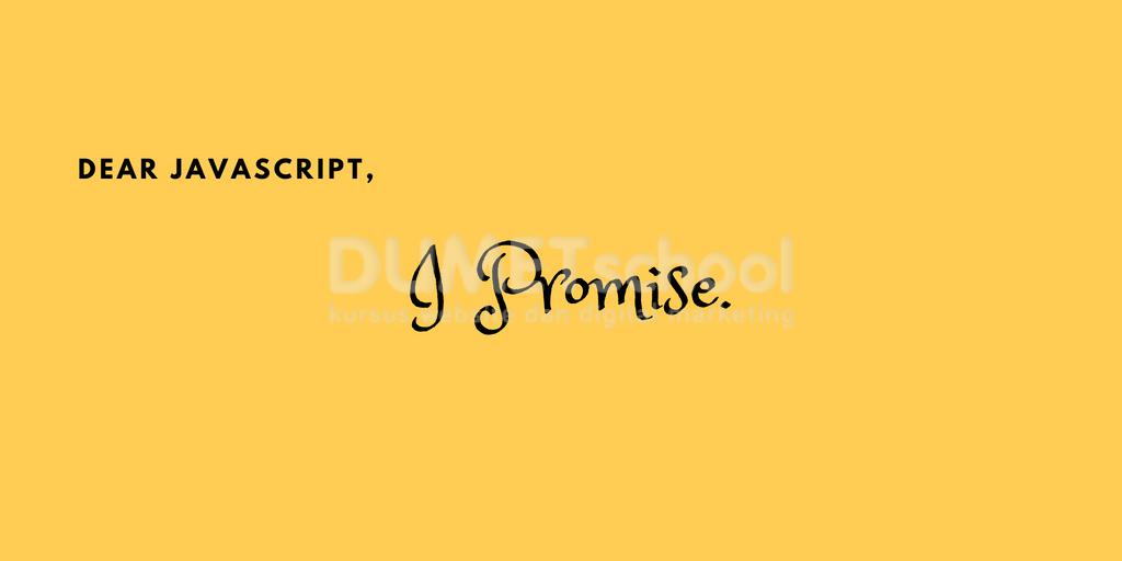 Cara Menggunakan Promise Pada Javascript