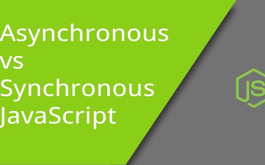 Perbedaan Javascript Synchronous Dengan Asynchronous