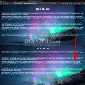 Cara Membuat Background Website Menjadi Fullscreen dengan CSS